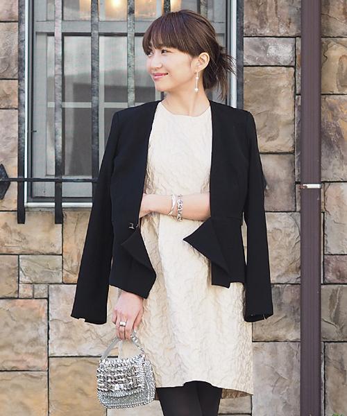 30代の方におすすめの秋の結婚式の服装