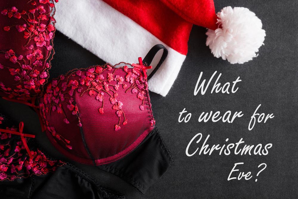 クリスマスイブ用の下着