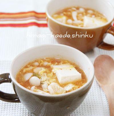 きのこスープ