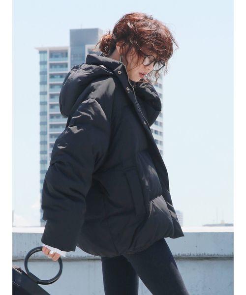 ダウンジャケットを使った寒さ対策の服装