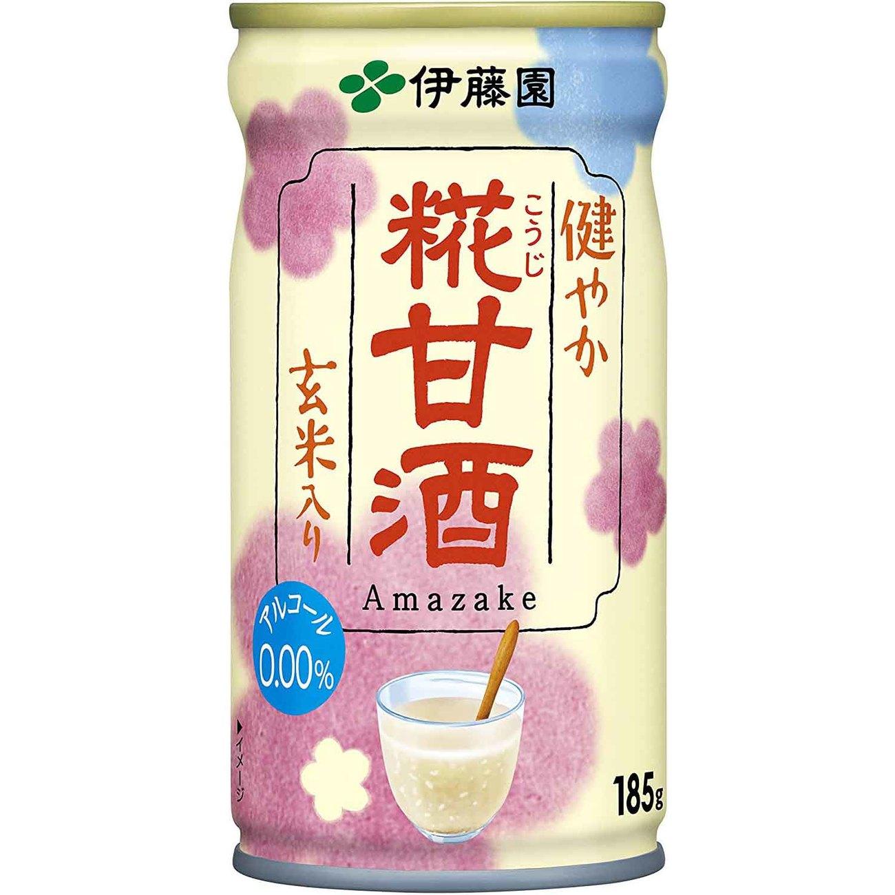 伊藤園 健やか 糀甘酒 缶