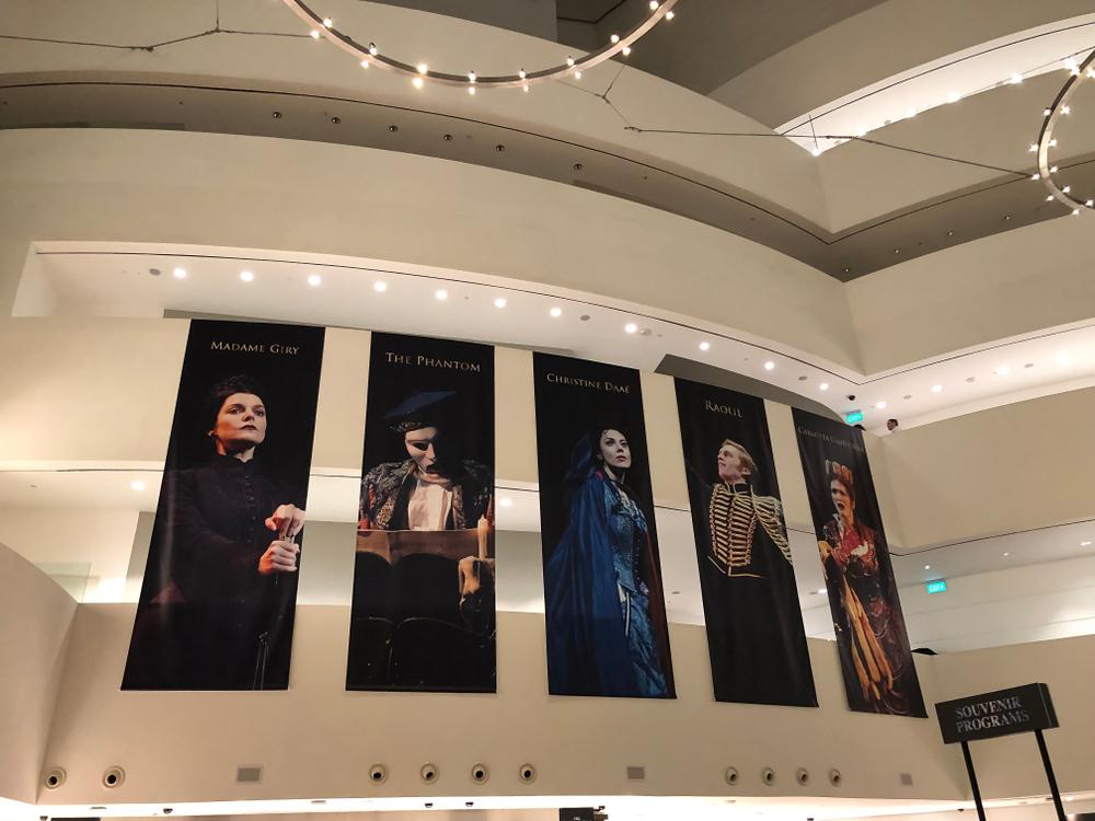 オペラの垂れ幕