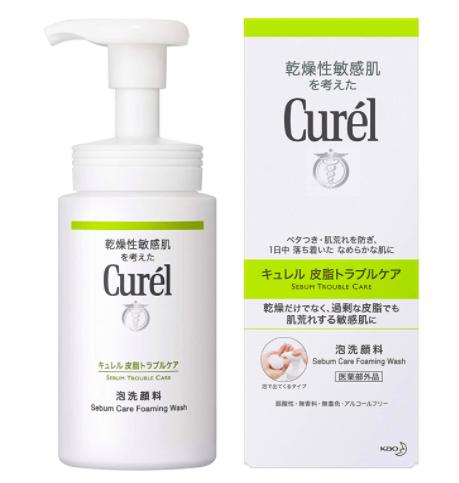 Curél(キュレル) 皮脂トラブルケア 泡洗顔料