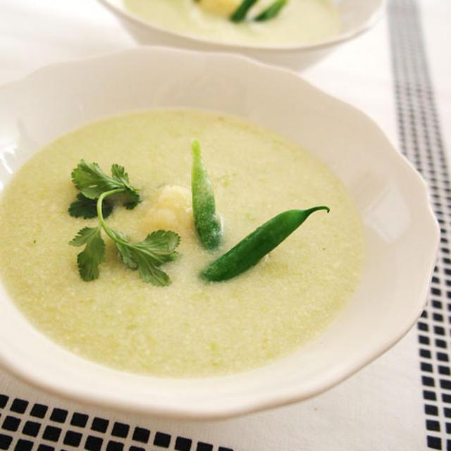 ビタミンCが豊富なポタージュ風スープ
