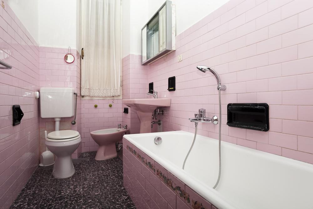 お風呂場の床のDIY