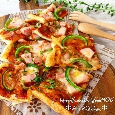 パイシートで作ったピザ