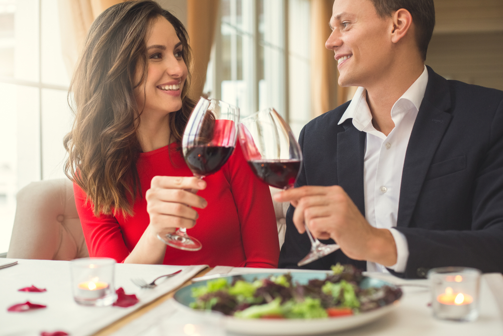 結婚記念日のディナー