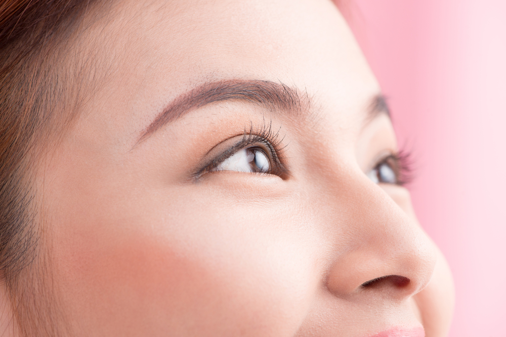 美しいアーチ眉