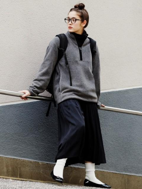 大学生におすすめの秋アイテムを使った着まわしコーデ
