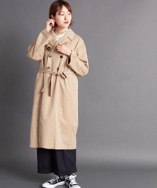 ギャバ素材のコート