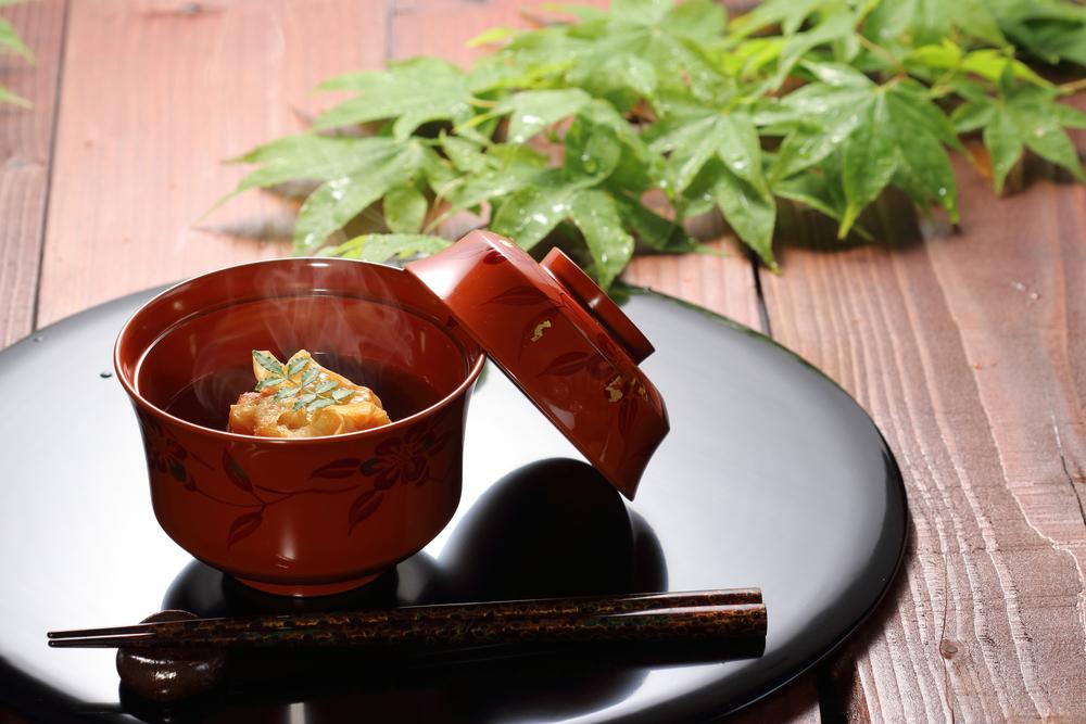 和食のお椀の頂き方のマナー