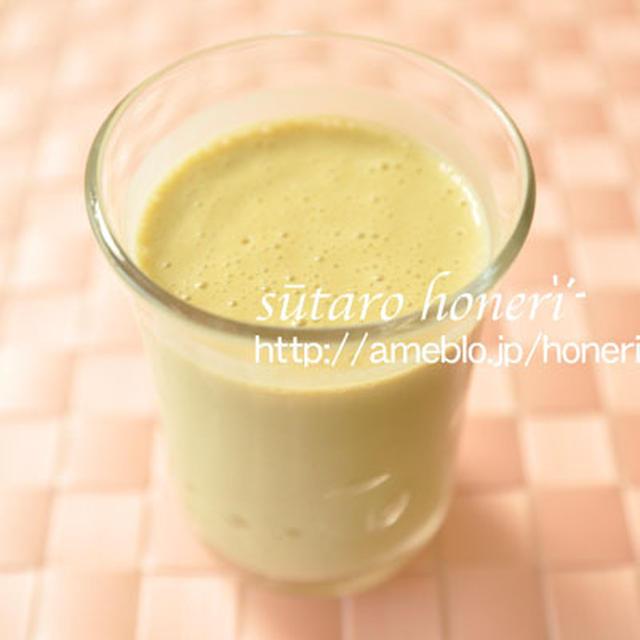 豆腐スムージー 抹茶バナナ味のレシピ