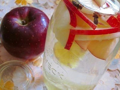 林檎の爽やかデトックスウォーター♪