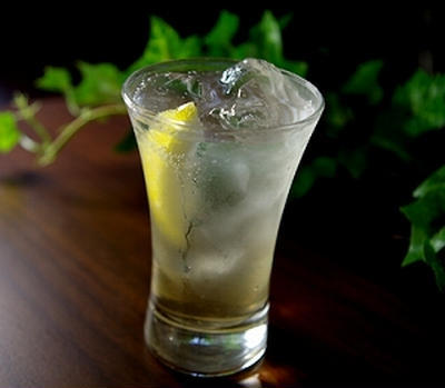 蜂蜜レモンスカッシュのレシピ