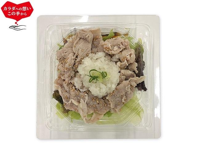 セブン-イレブン たんぱく質が摂れるおろしの豚しゃぶサラダ