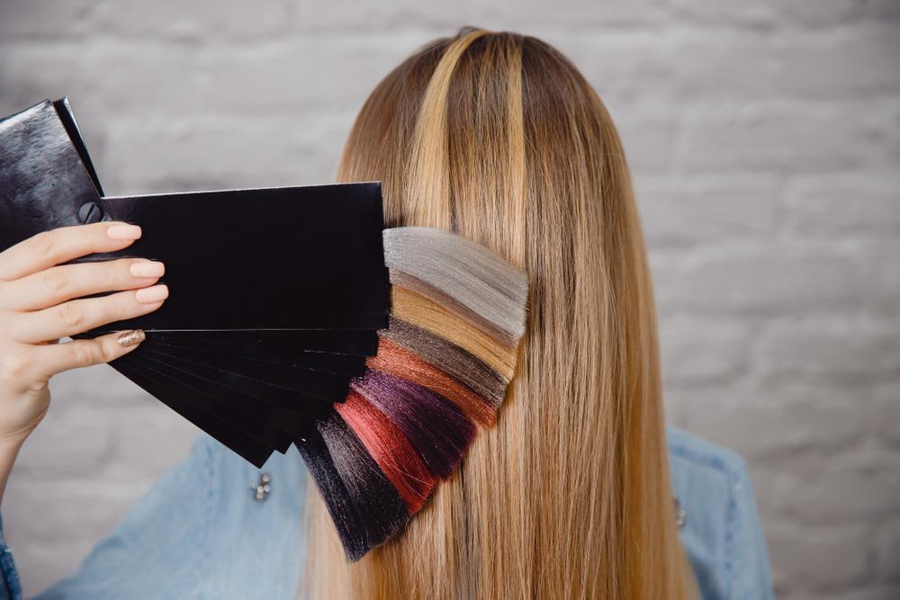 家で髪染めるヘアカラー剤の選定