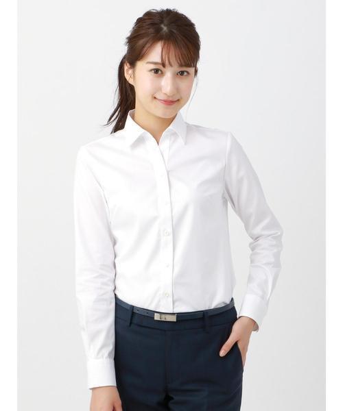 就活用におすすめのシャツ【2】スキッパーカラーシャツ