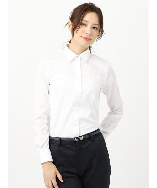 就活用におすすめのシャツ【1】レギュラーカラーシャツ