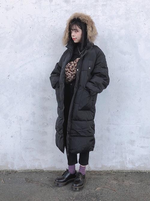 ダウンコートを使ったドイツの服装