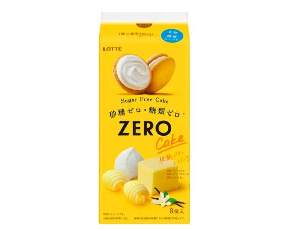 LOTTE(ロッテ) ゼロ シュガーフリーケーキ<発酵バター×バニラ>