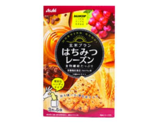 Asahi 玄米ブランはちみつレーズン