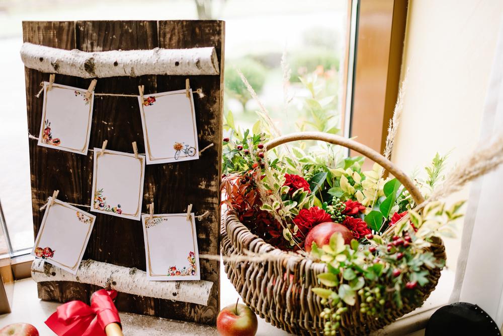 結婚式のウェルカムスペース