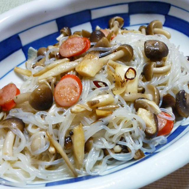 カロリーオフなA・Oペペロンチーノのレシピ