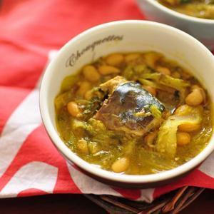 鯖缶と大豆のスパイスカレーのレシピ