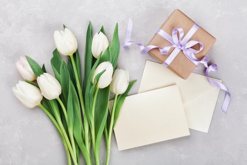 手紙とサプライズプレゼント