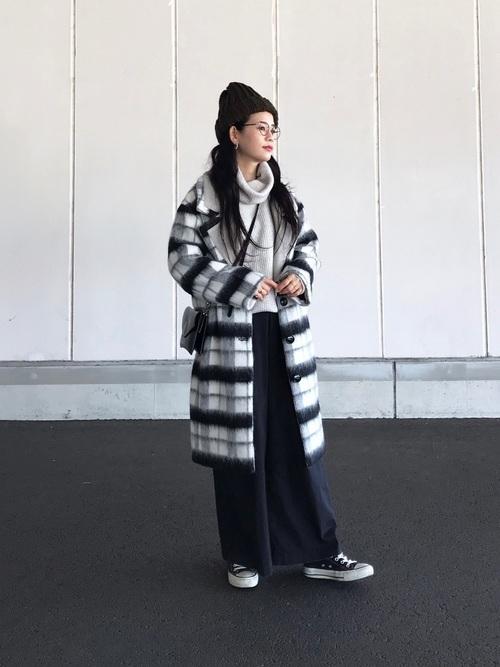 チェスターコートを使ったジェンダーレスファッション