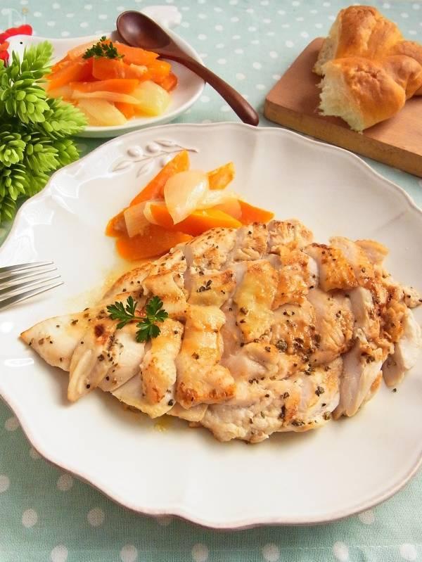 鶏胸肉のハーブステーキ