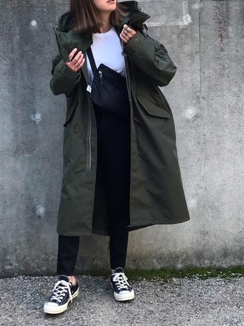 モッズコートを使ったチェコの服装