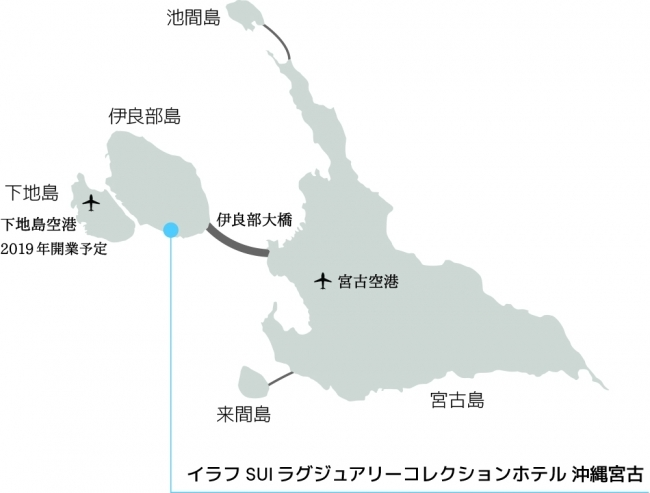 「イラフ SUI ラグジュアリーコレクションホテル 沖縄宮古 アクセス
