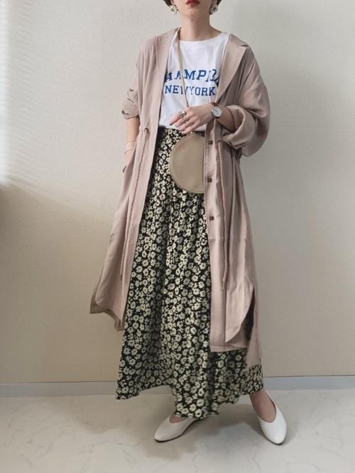 スカートを使った春のライブの服装