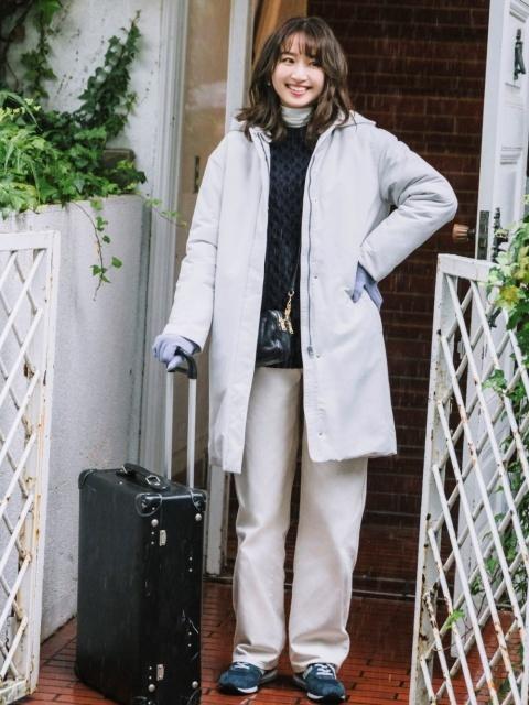 冬の旅行の服装におすすめのアウター