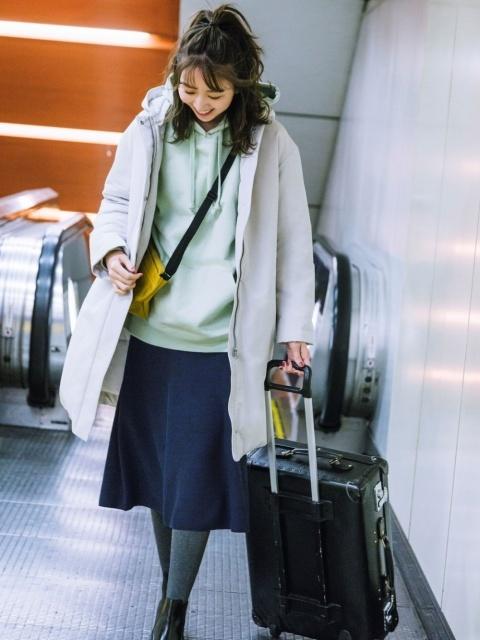20代におすすめの冬の旅行の服装