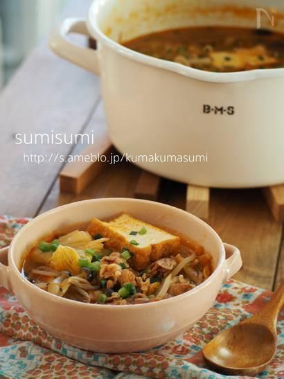キムチスープのレシピ