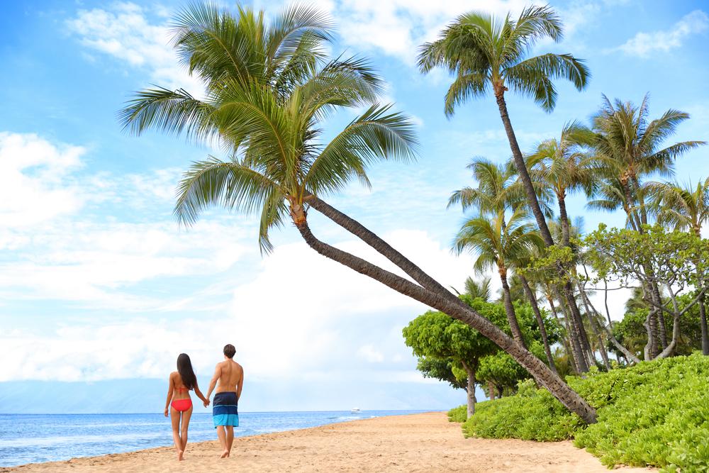 ハワイでのハネムーン