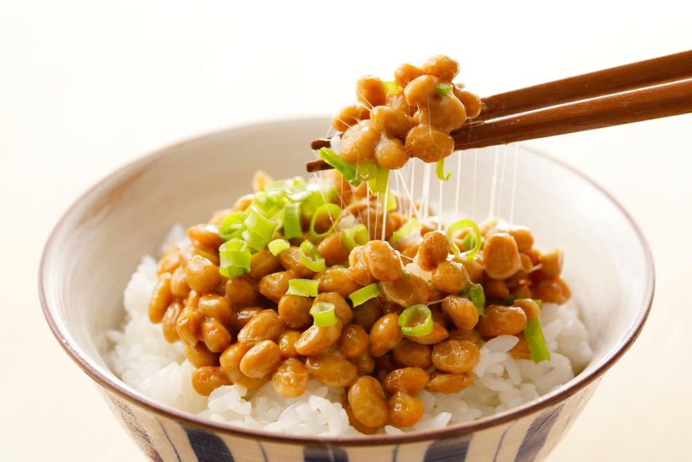 納豆とご飯