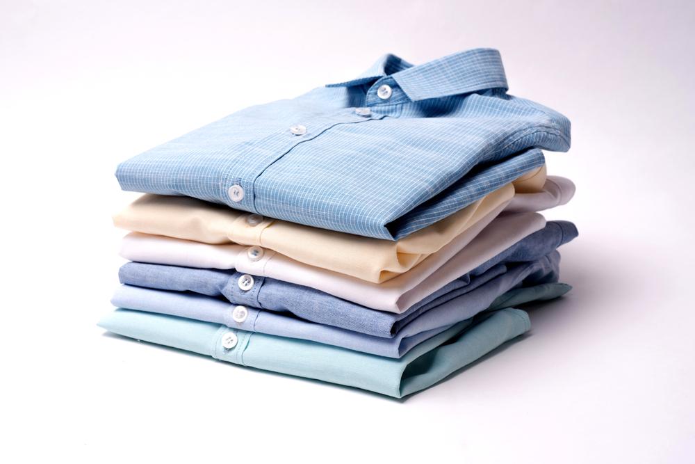 ワイシャツ→子供用ノーカラーシャツ
