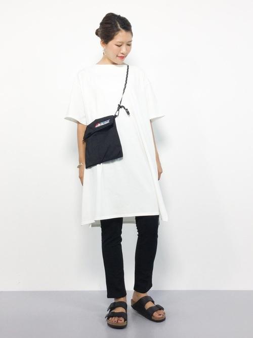 Tシャツワンピを使ったサマソニの服装