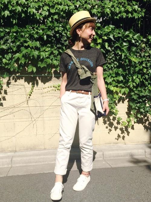 白パンツを使ったサマソニの服装