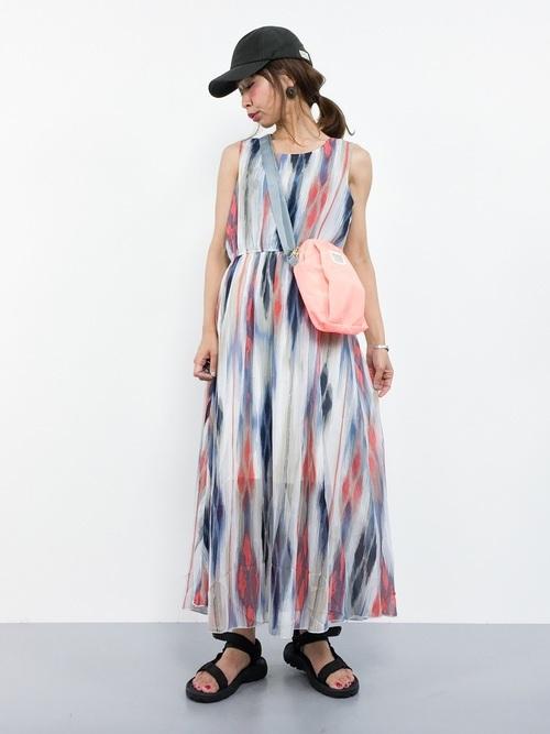 ワンピースを使ったサマソニの服装