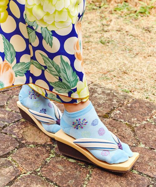 雨の日の浴衣におすすめの足袋ソックス