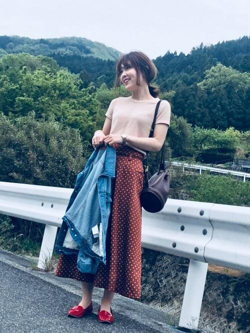 春の愛媛コーデ