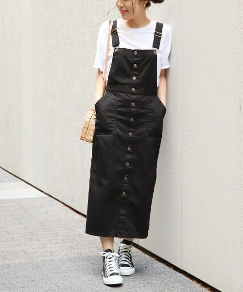 【SOMETHING × Spick】ジャンパースカート