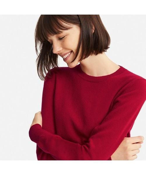 ユニクロのカシミヤセーター