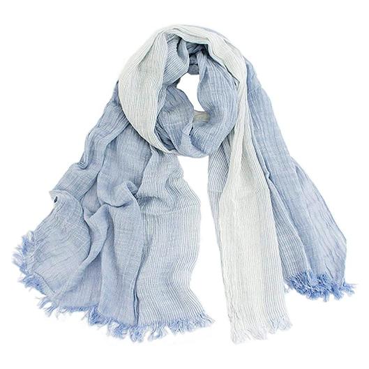 maikun 大判ストール レディース 綿 柔らかい 薄手 UVカット&冷房対策の写真