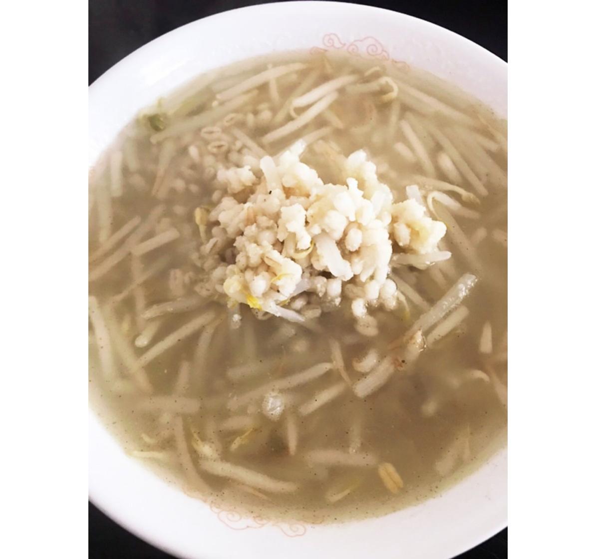 もち麦とおからのダイエット生姜スープ