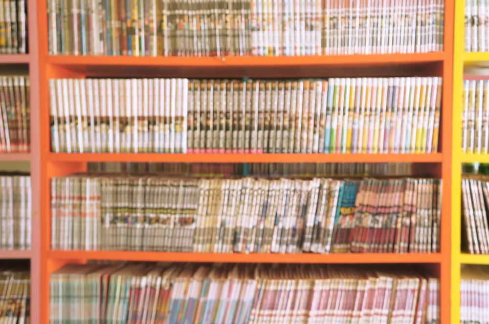 漫画本の収納